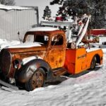 Old-Tow-Truck-in-driveway